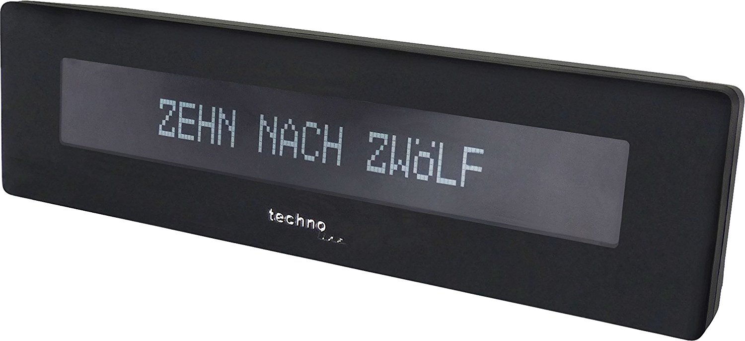 LED Word Uhr